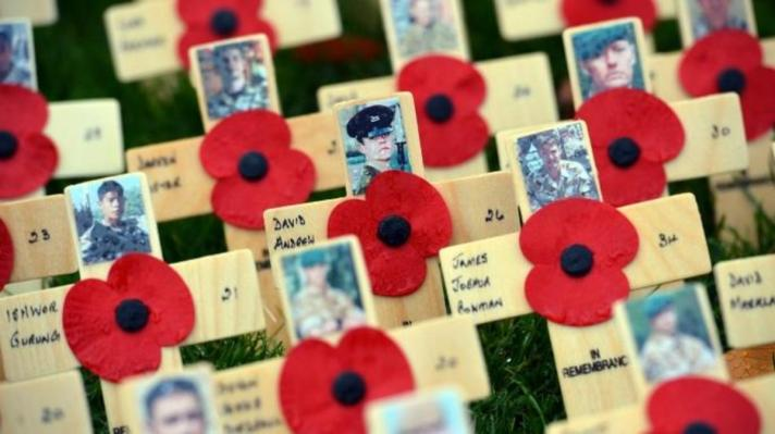 red poppy crosses