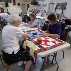 quilt tacking party b