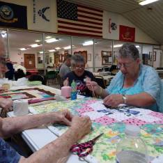 quilt tacking party d